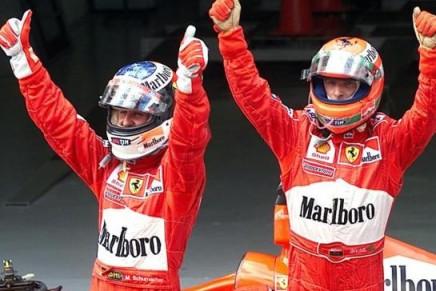 GP-Malesia-1999-Irvine-Schumacher-Ferrari-436x291
