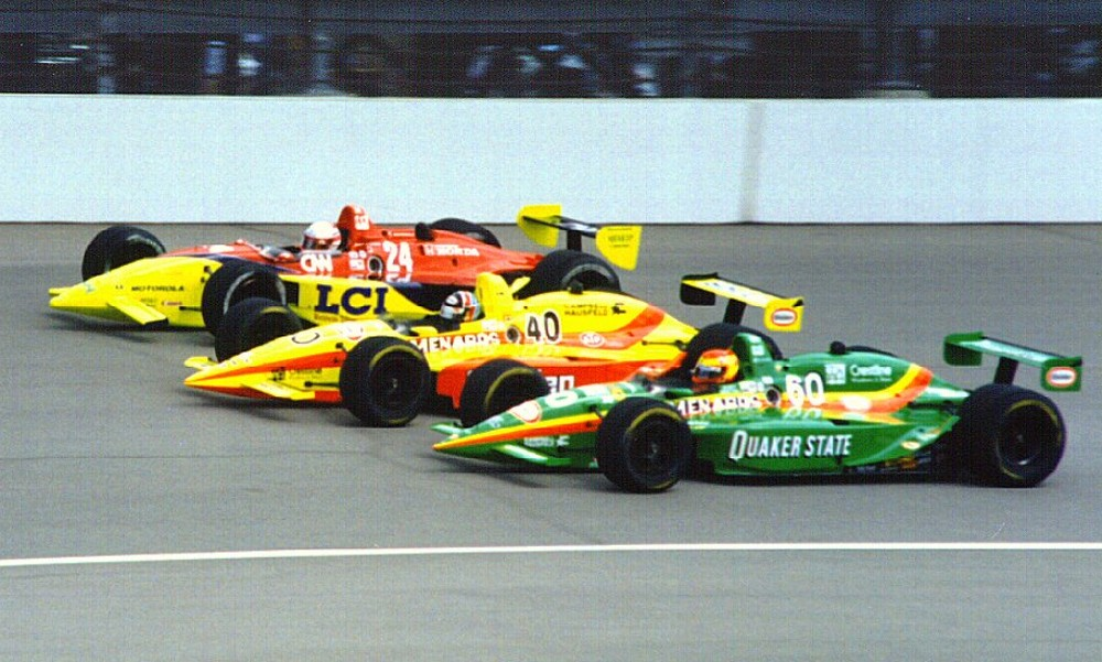 Indy first row 95
