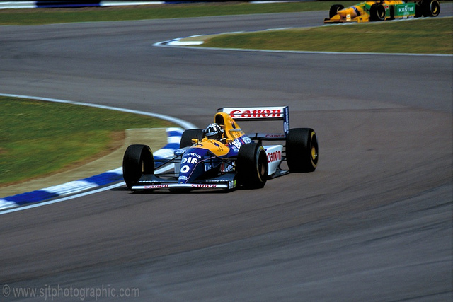 fastback - silverstone 1993 hill