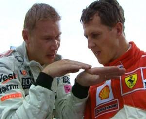 Schumacher e Hakkinen