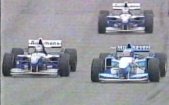 fastback - hill passa schumacher argentina 1995