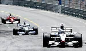 fastback - gp monaco 2002 coulthard montoya schumacher