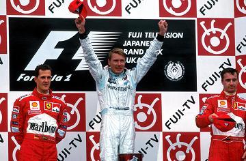 Il podio di Suzuka 1999