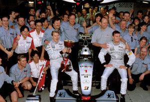 La McLaren nel 1999