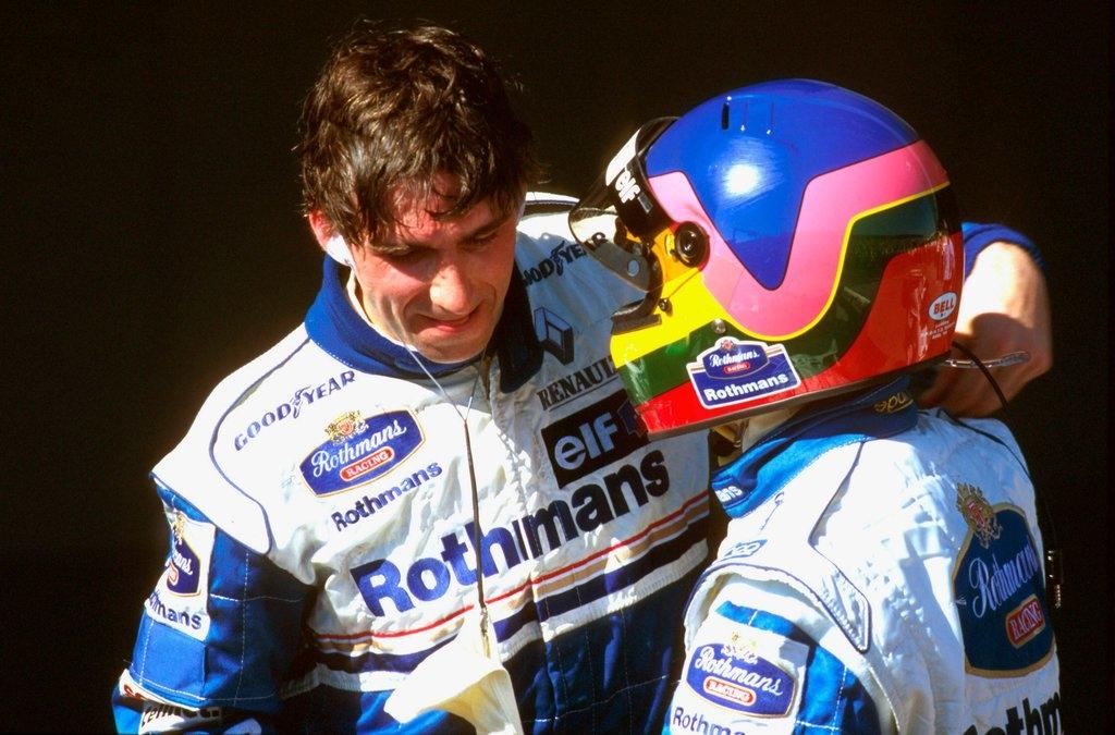 Hill e Villeneuve