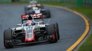 Grosjean Haas Australia 2016