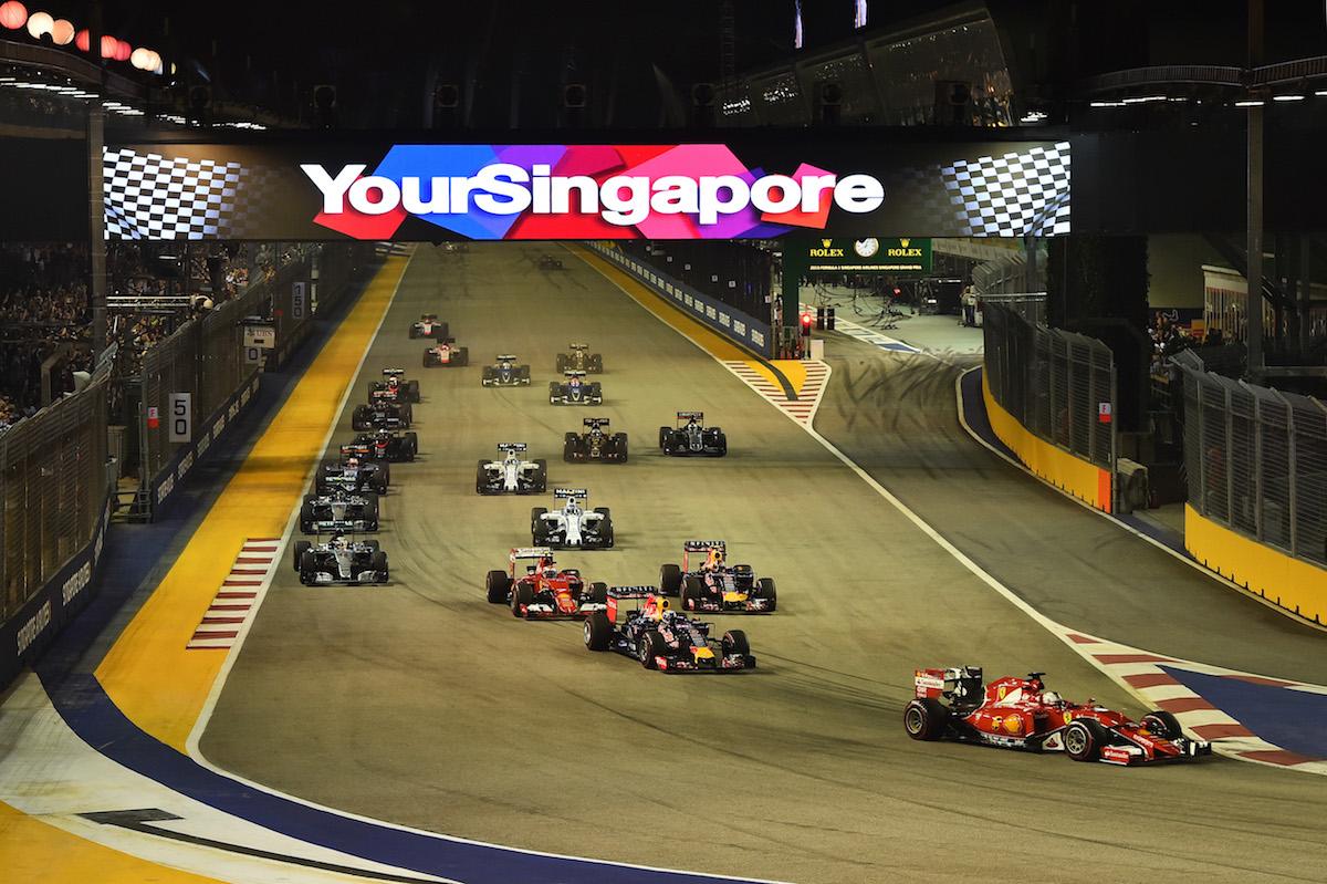 Sinagpore Grand Prix Race